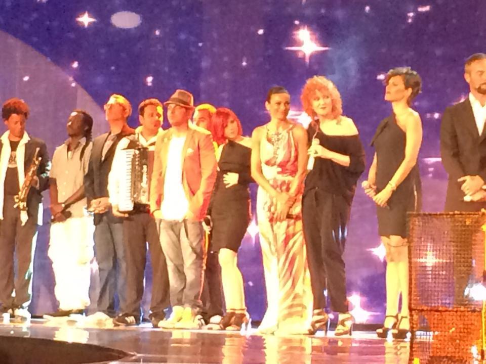 Il palcoscenico di Una Notte Per Caruso 2014