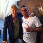 Ron con Mirko